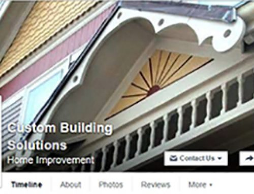 Custom Building Solutions – Facebook