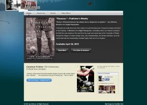 Jay Atkinson - Website