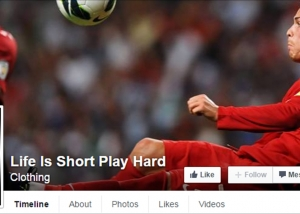 Life Is Short Play Hard - Facebook