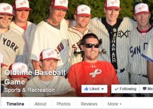 Old Time Baseball Game - Facebook